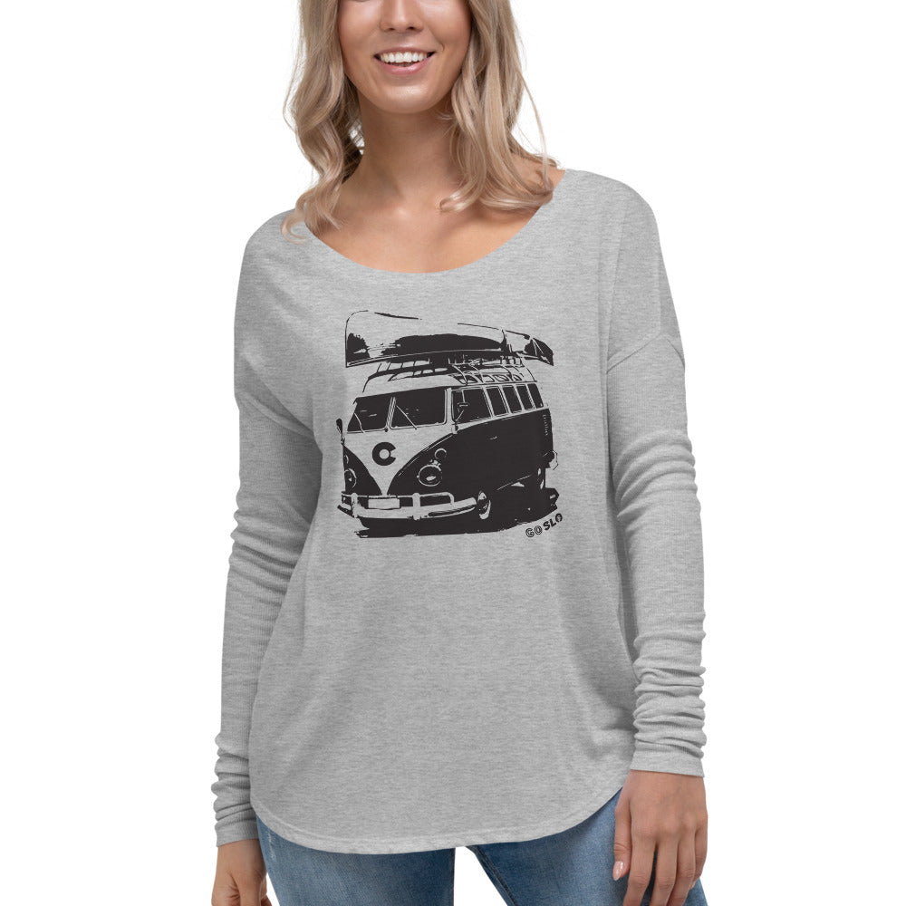 Gals Colorado Canoe Long Sleeve Tee