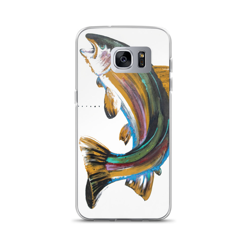 Rainbow Fish Face Samsung Case