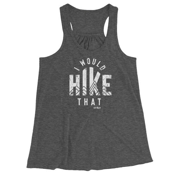 Gals Hike That Flowy Racerback Tank