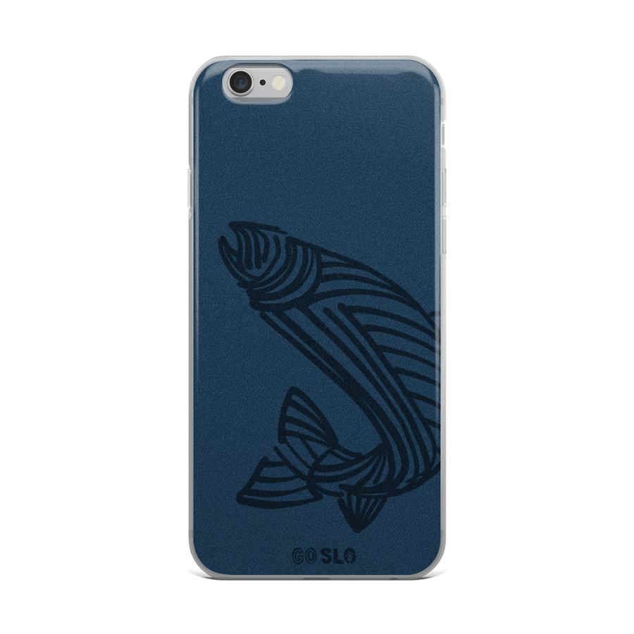 Fish Sketch iPhone Case