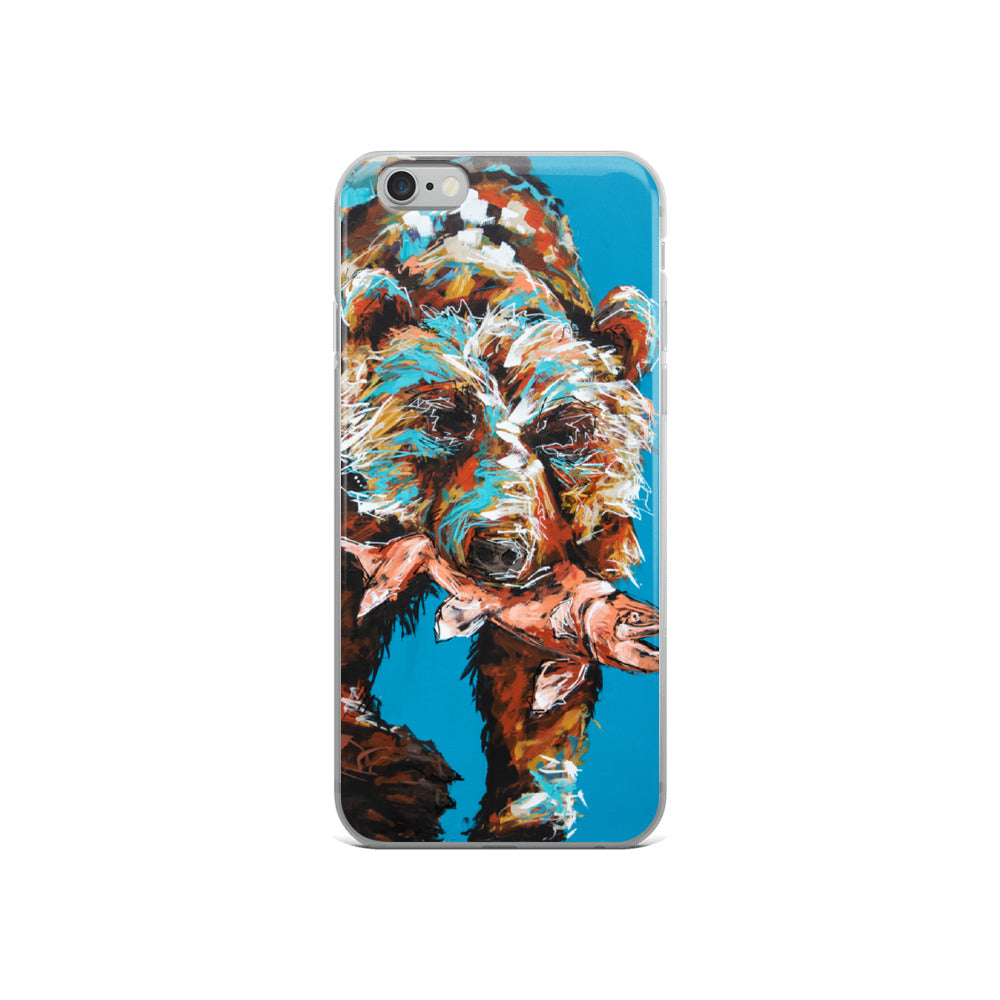 Fred the Bear iPhone Case