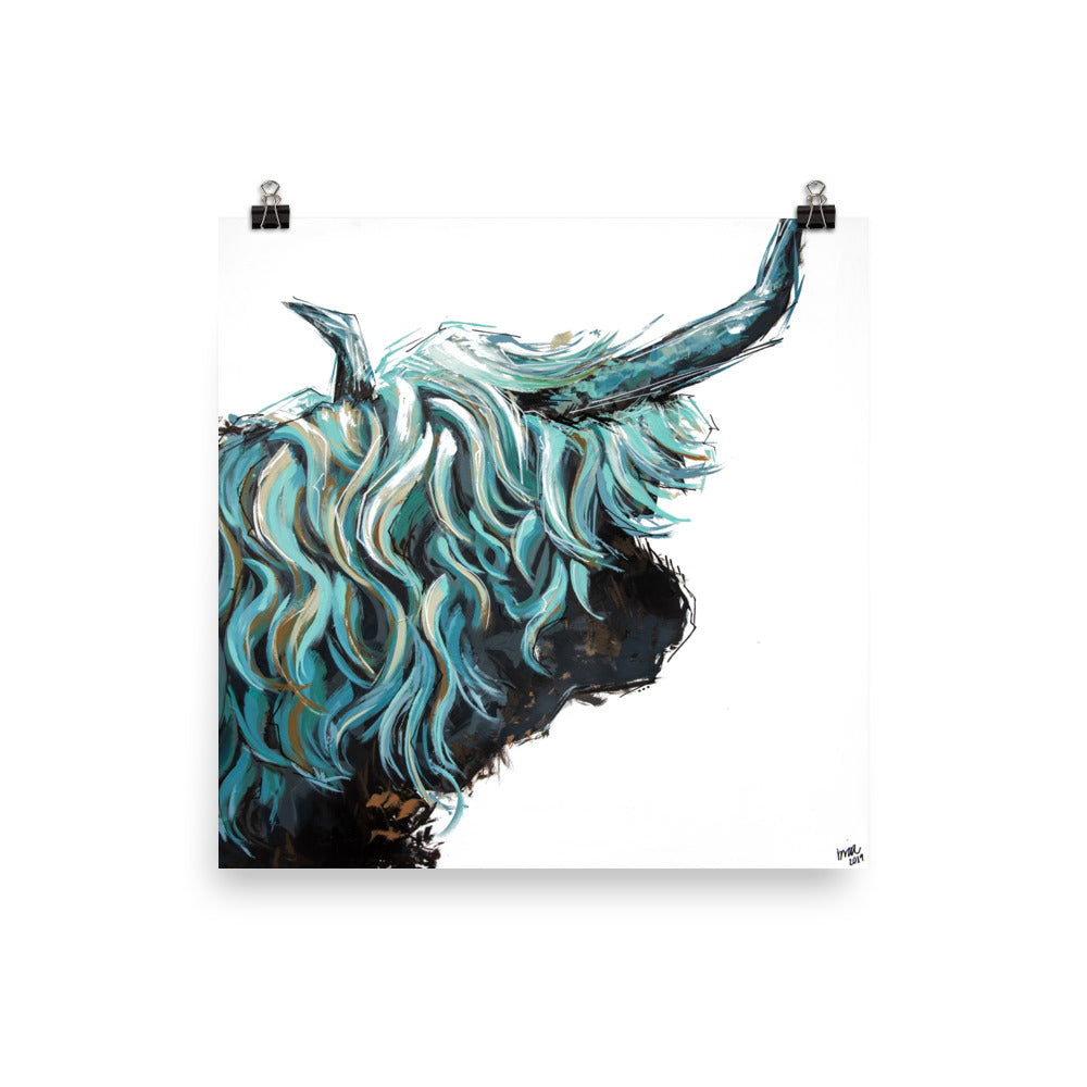 Maude the Highland Print
