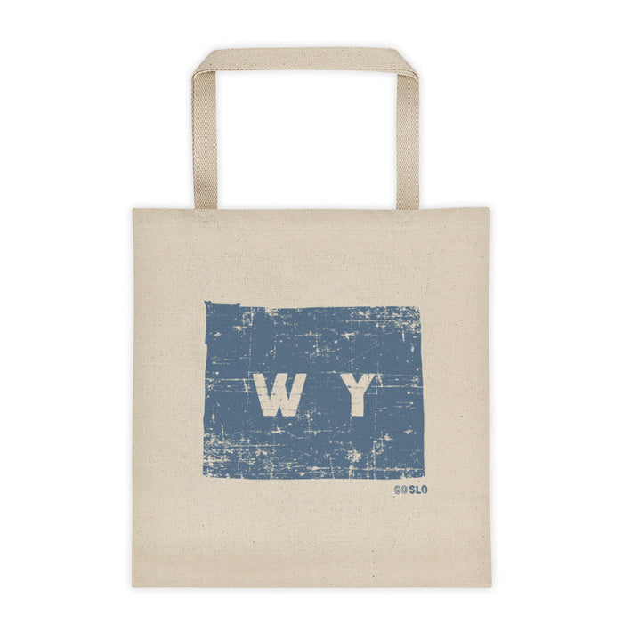 Wyo Shape Canvas Tote