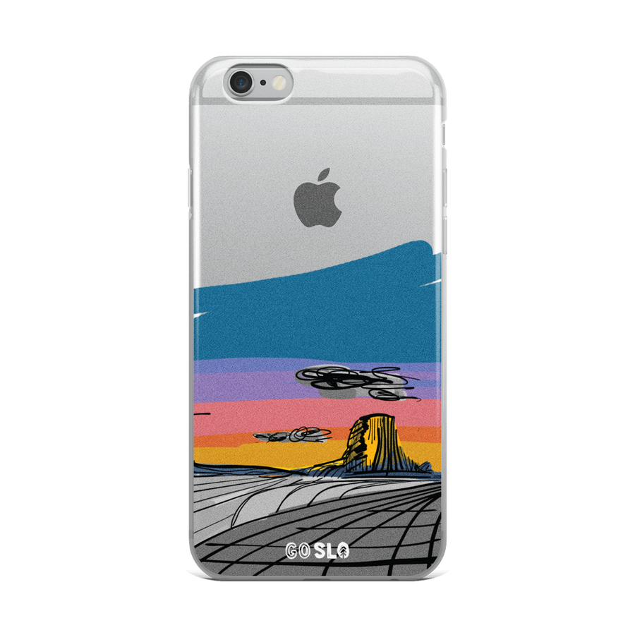 WYO // Devils Tower iPhone Case