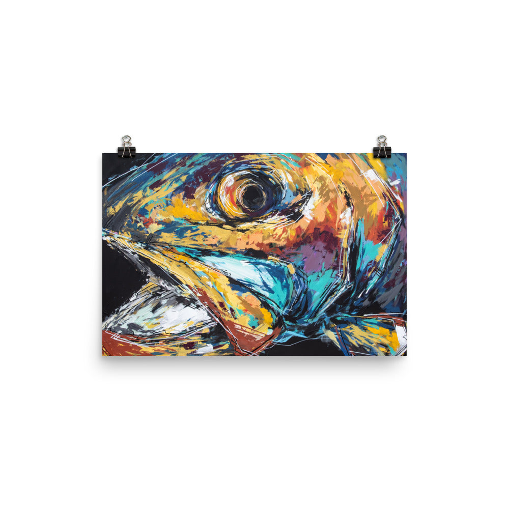 Hoyt the Rainbow Trout Print