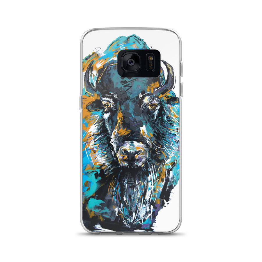 Bison Beard Samsung Case