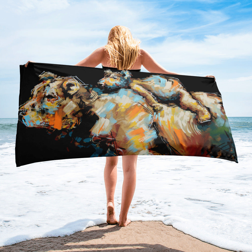 Midge + Esther Oversized Beach Towel