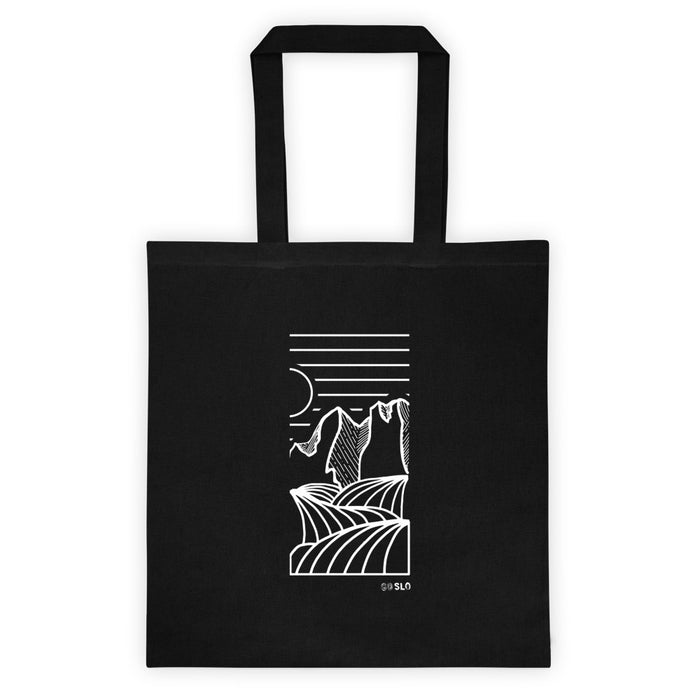Big Horn Canvas Tote Bag