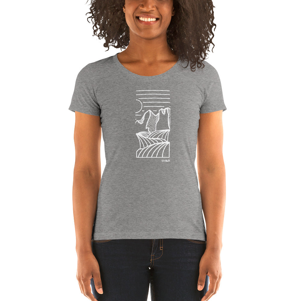 Gals Big Horns Fit Tee