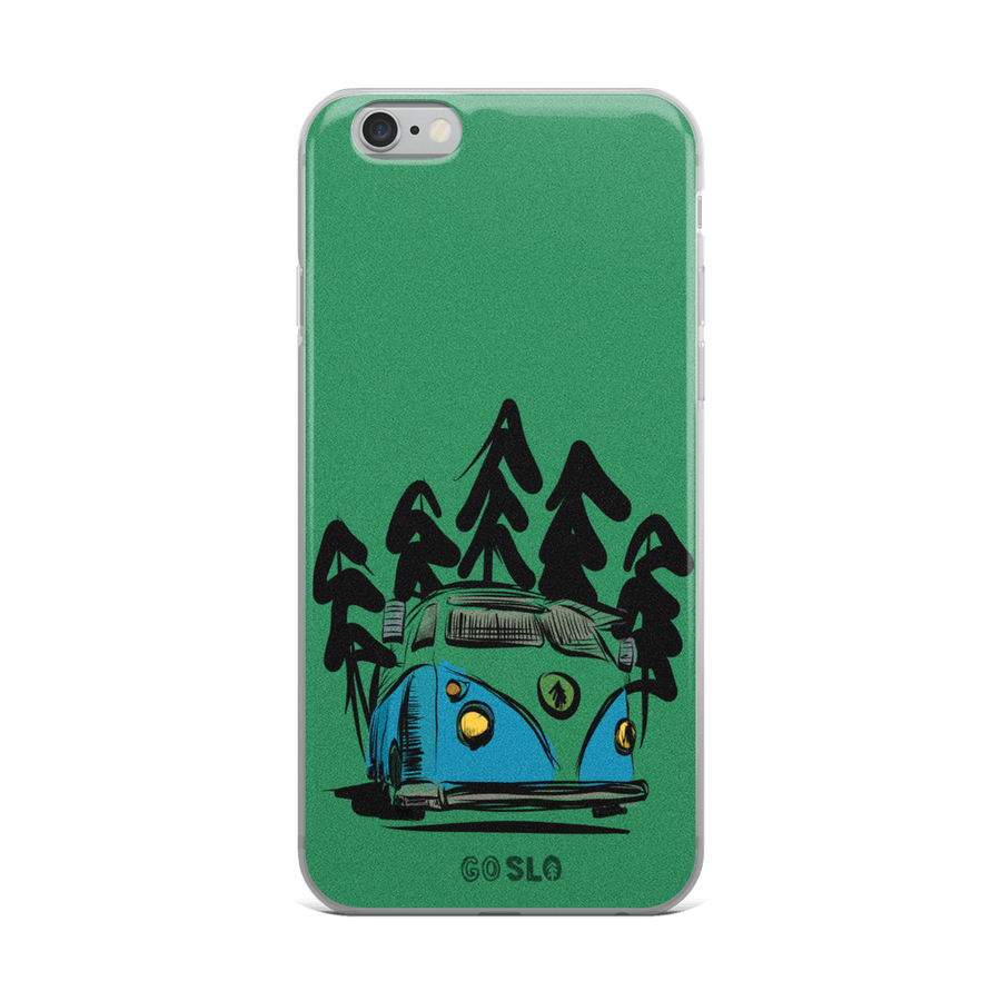 Volks + Trees iPhone Case
