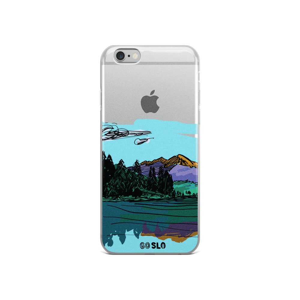 COLORADO // Maroon Reflection iPhone Case