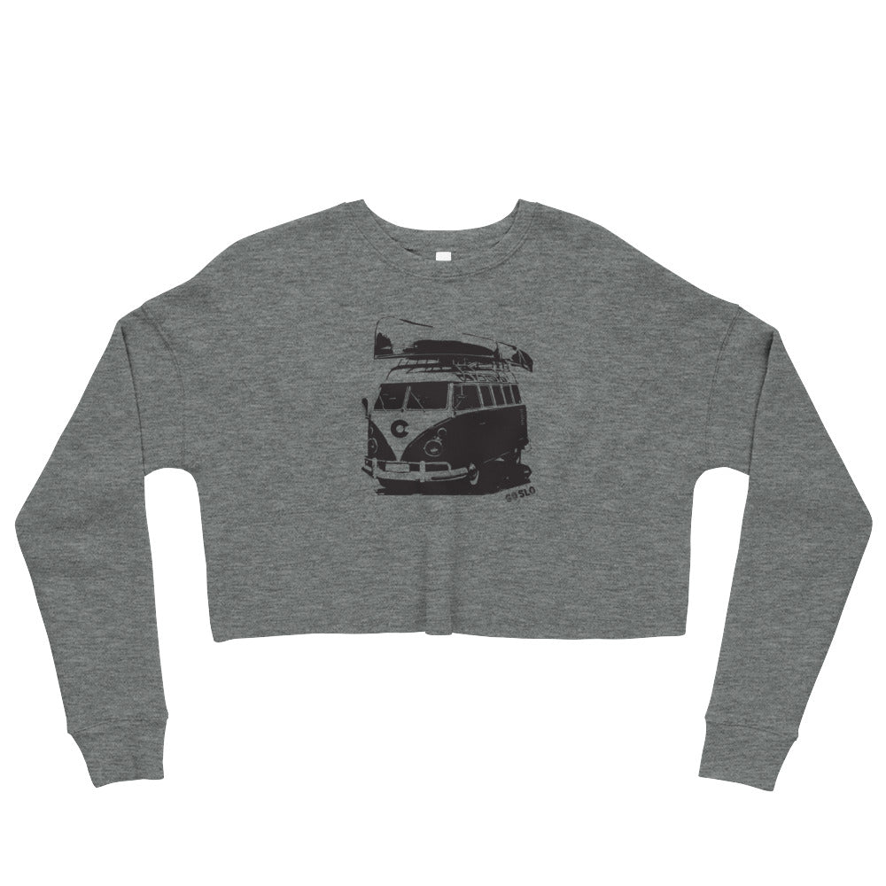 Gals Colorado Canoe Crop Sweatshirt