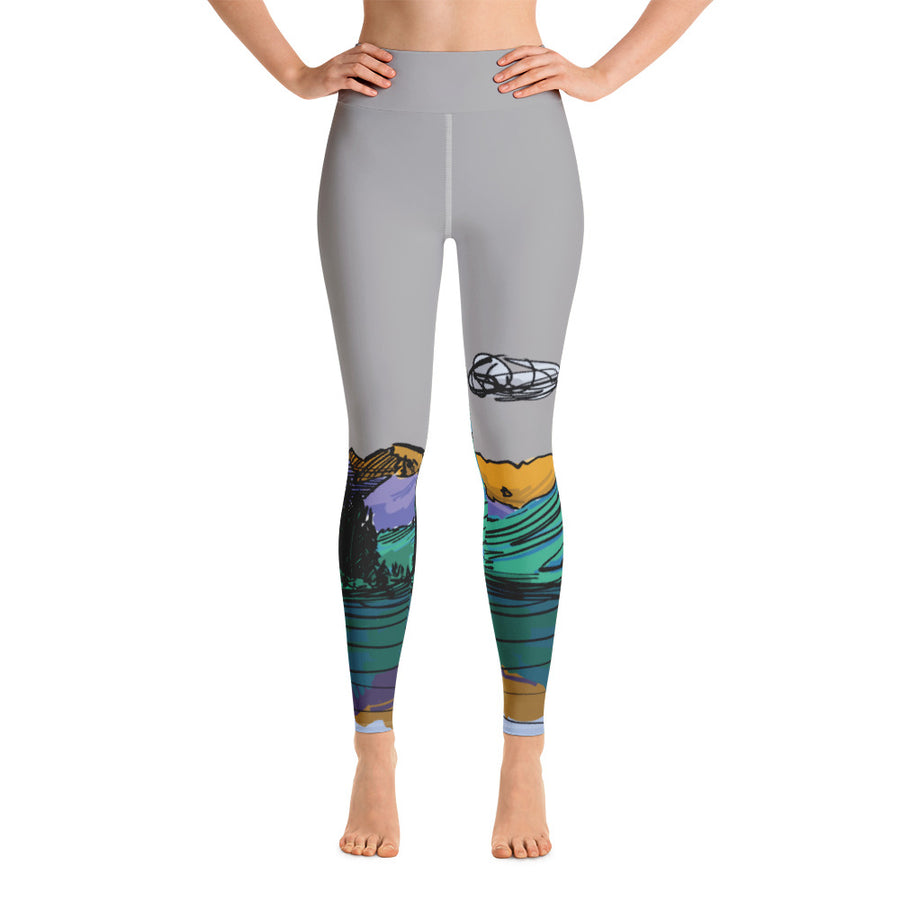 COLORADO // Maroon Bells High-Waist Leggings