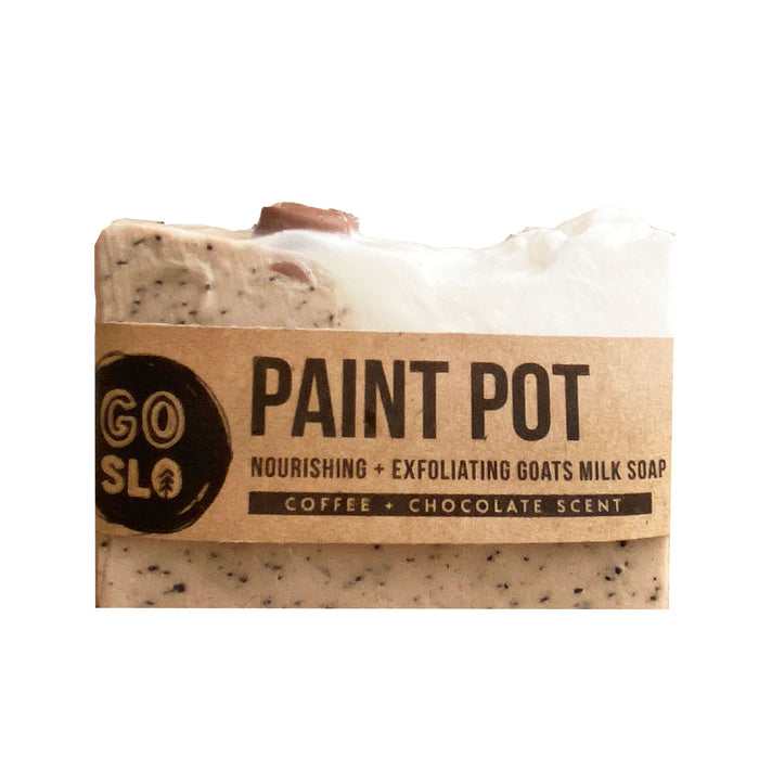 Paint Pot Coffee + Goat's Milk Soap