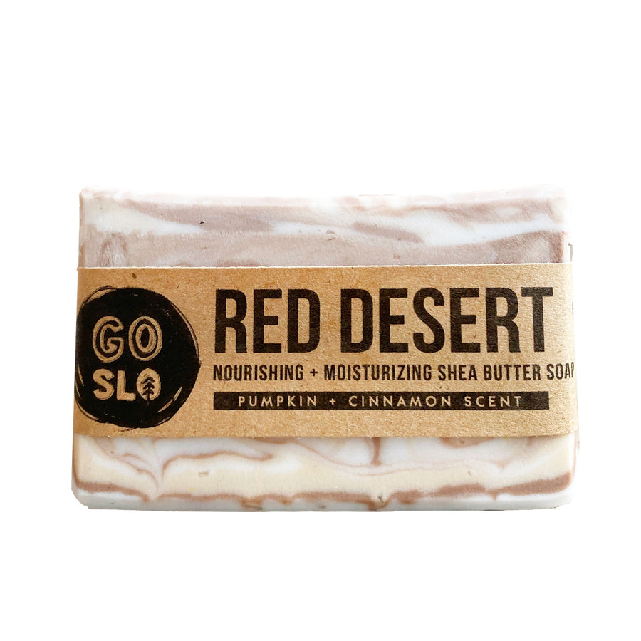 Red Desert Pumpkin + Shea Butter Soap