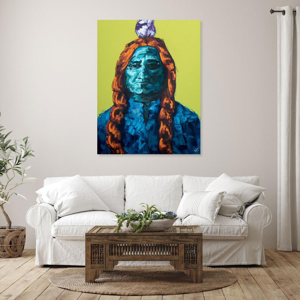 Sitting Bull Original Painting