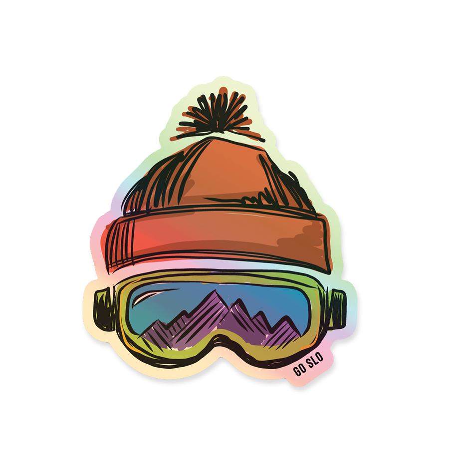 Holo Slopes Sticker