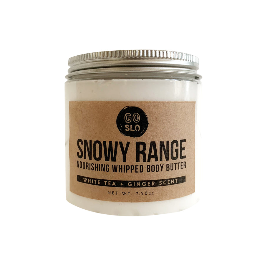 Snowy Range // Jumbo White Tea + Ginger Whipped Body Butter