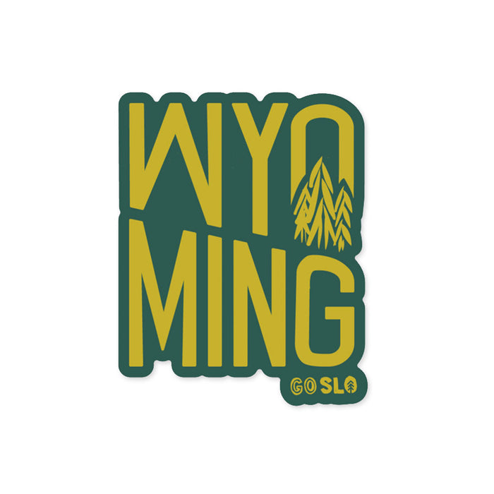 Wyo Stack Sticker