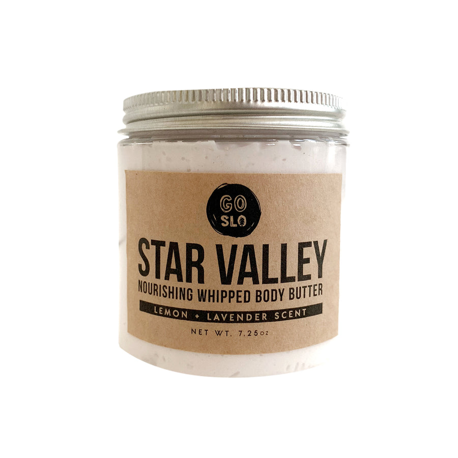 Star Valley // Jumbo Lemon + Lavender Whipped Body Butter