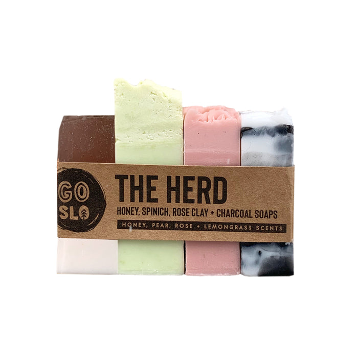 The Herd // Handcrafted Soap Sampler