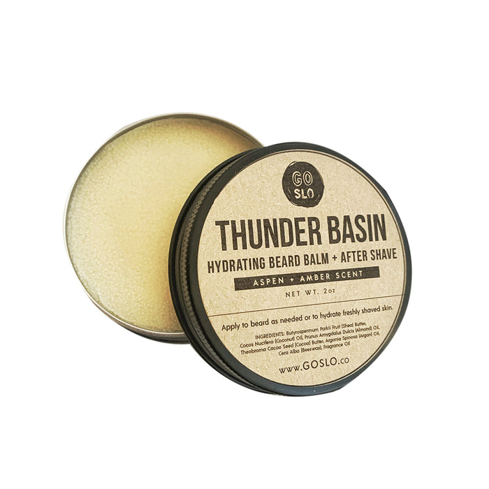 Thunder Basin // Hydrating Beard Balm + After Shave