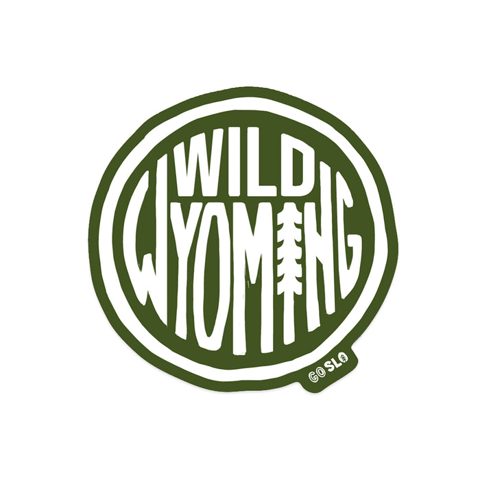 Wild Wyoming Sticker