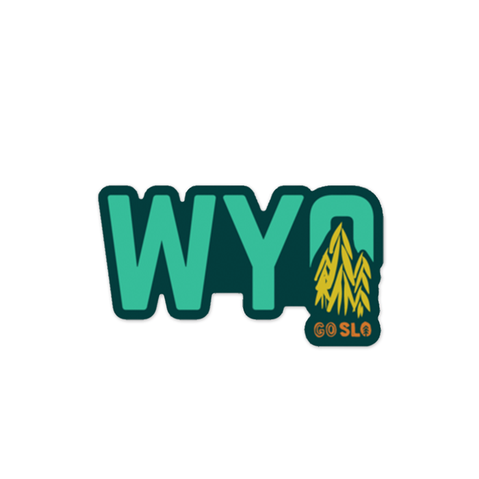 Wyo Trees Sticker