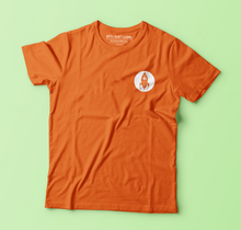 ROCKET ORGANIC T-SHIRT (ORANGE)