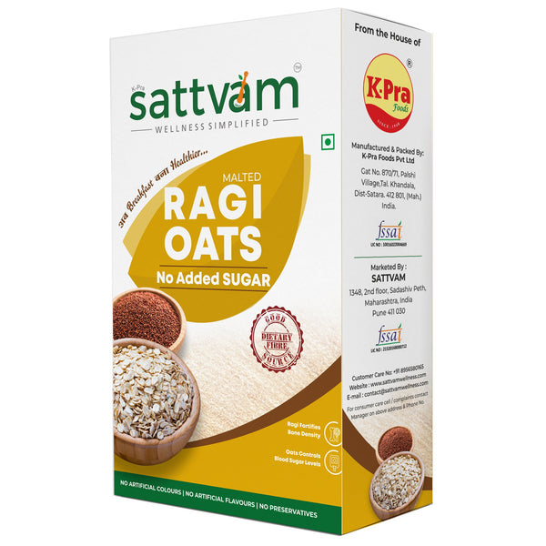 Ragi Oats without Sugar