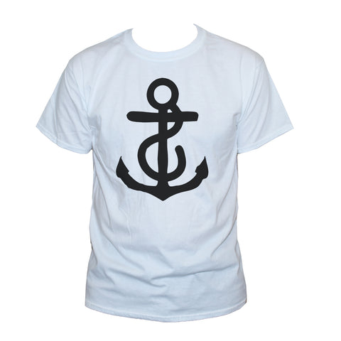 Anchor T shirt Classic Nautical Style Printed Top