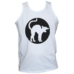 Angry Cat T shirt Vest Funny Grunge Printed Top