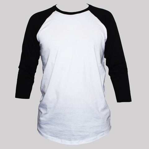 Raglan 3/4 Sleeve Graphic T shirt