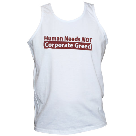 Anti Corporate/Capitalist Left Wing T Shirt