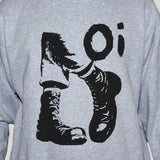 Oi! Skinhead Sweatshirt Men/Women Punk Rock Graphic Jumper