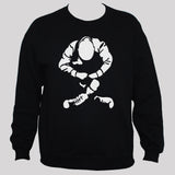 Skinhead Sweatshirt unisex punk rock oi black sweater jumper