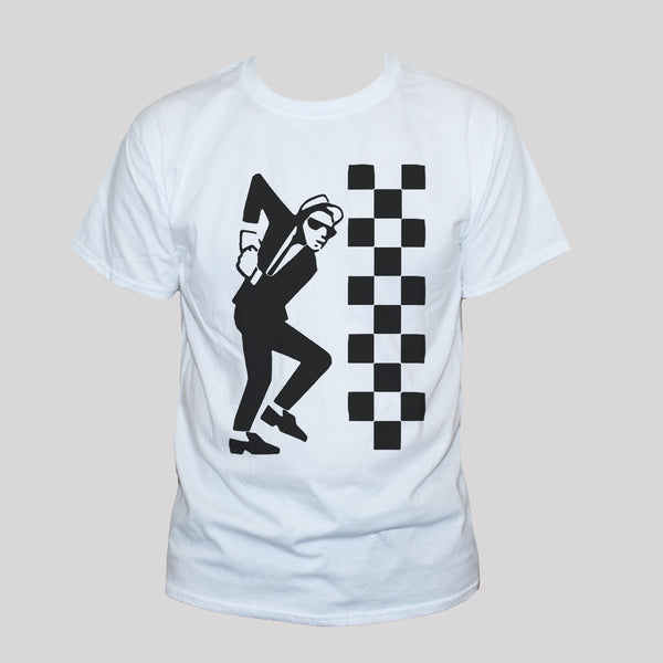 Ska Dude T shirt Two Tone Unisex Reggae Graphic Tee