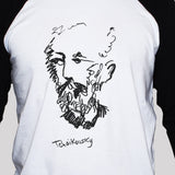 Tchaikovsky T shirt 3/4 Sleeve Graphic Musician Artist Unisex Tee All Sizes