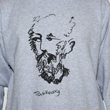 Tchaikovsky Sweatshirt Graphic Musician Artist Unisex Grey Jumper All Sizes