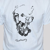Tchaikovsky T shirt Graphic Musician Artist Unisex Tee White Close Up Photo