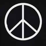 Peace Sign-Symbol Sweatshirt Anti War Political Activist Pacifist Sweater