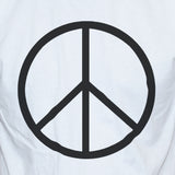 Peace Sign-Symbol Anti War T shirt/Vest Political Protest Unisex Tee Close up