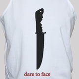 protest knife crime t shirt vest unisex statement activist graphic tee