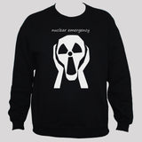 Nuclear Emergency Anti-War Peace Black Sweatshirt
