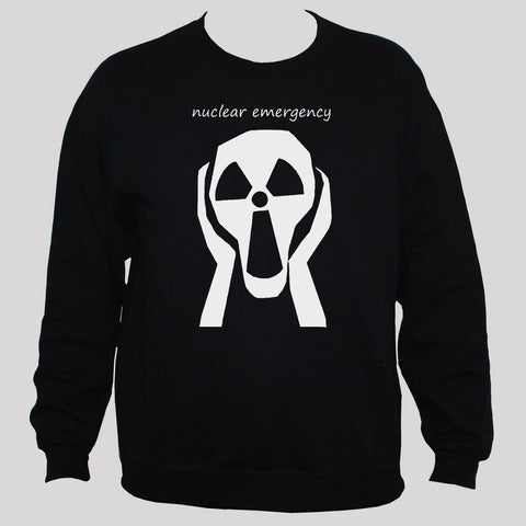 Anti War Nuclear Disarmament Protest Sweatshirt Black