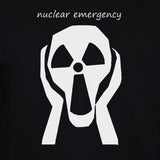 Anti-Nuclear Protest Sweatshirt No War Peace Demonstration Graphic Sweater Black