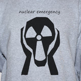 Nuclear Emergency Anti-War Peace Protest Political Grey Sweatshirt