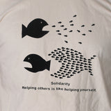 Solidarity Political T shirt Left Wing Protest Socialist Activist Unisex Tee