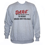Dare Social Activist Sweater Protest Slogan Jumper Grey