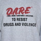 D.A.R.E. To Resist Drugs And Violence Retro Style Protest T shirt